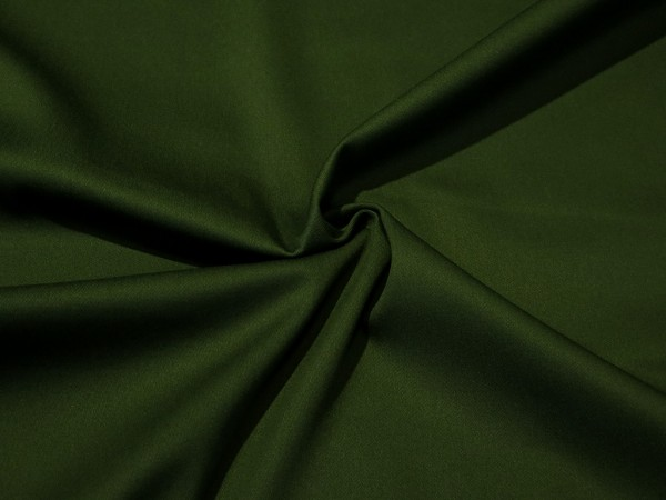 """Baumwollgabardine """"military green"""""""