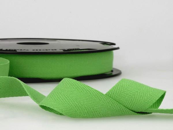 "Köperband ""grün"" 14mm"