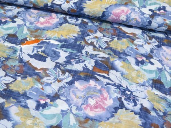 """Baumwoll-Viskose """"Blumen"""" jeans"""