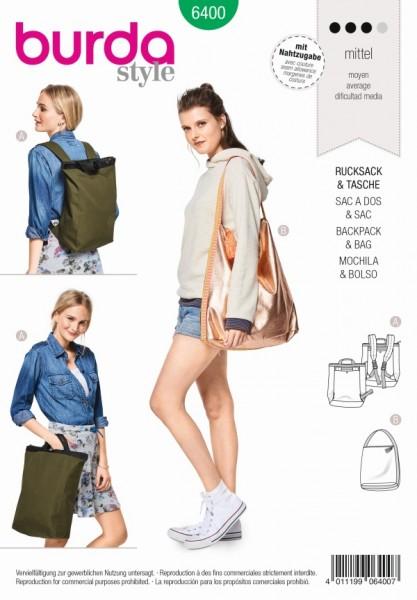 Rucksack + Tasche - 6400