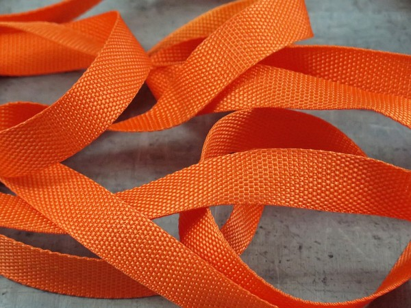 "Gurtband 25mm ""orange"""