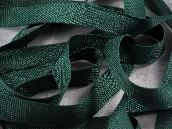 """Gurtband 25mm """"dunkelgrün"""""""