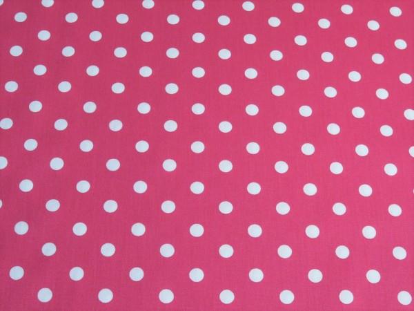 """Baumwollstoff """"Dots"""" pink"""