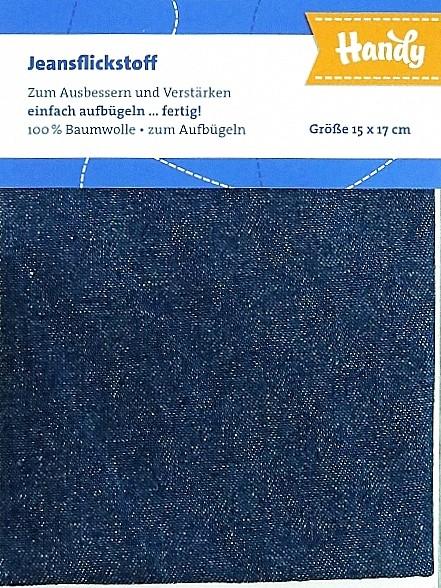 """Jeansflicken zum aufbügeln """"dunkelblau"""""""
