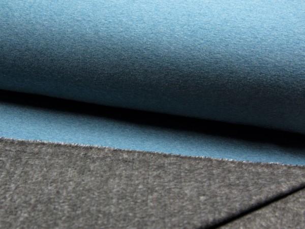 "Alpensweat ""blau melange"""