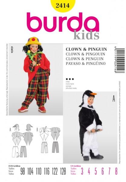Pinguin + Clown - 2414