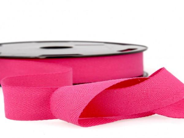 "Köperband ""pink"" 14mm"