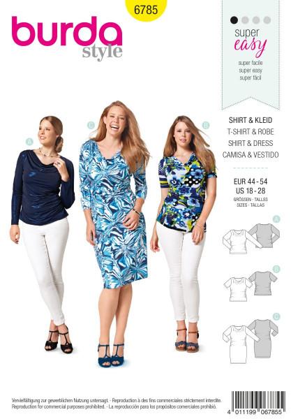 Kleid - 6785 A, B und C