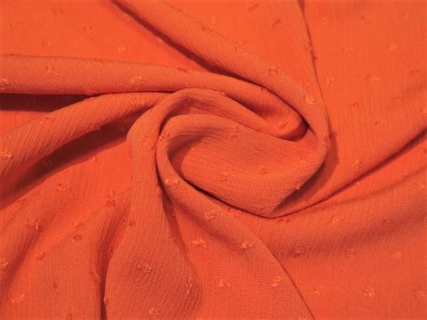 """Viskose """"Dots"""" orange"""