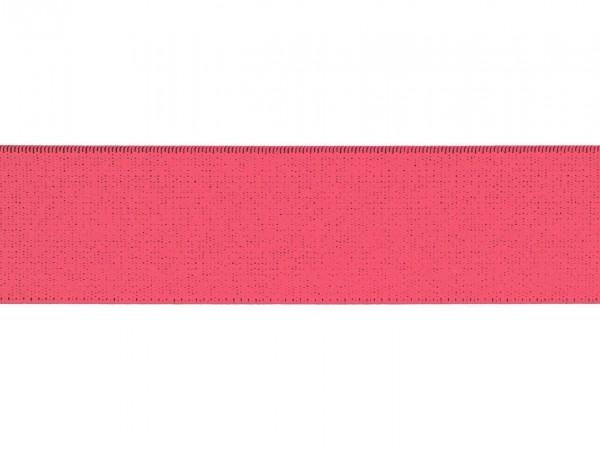 """weicher Gummi 40mm """"neon pink"""""""