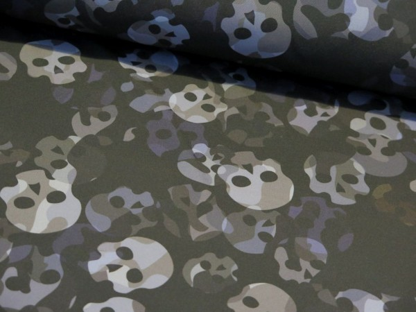 "Softshell ""Totenkopf-Skulls"" schwarz"
