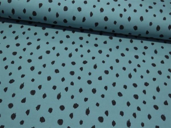 "BIO Kuschelsweat ""Dots"" dusty mint"