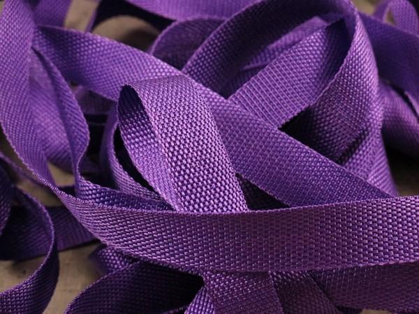 "Gurtband 25mm ""violett"""