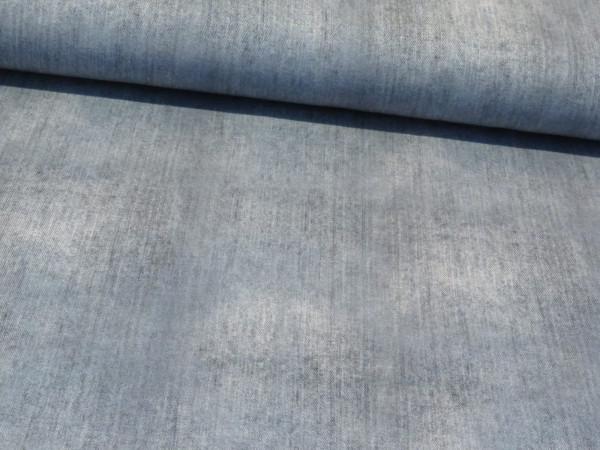 "Baumwolljersey ""Jeansoptik"" denim grau"