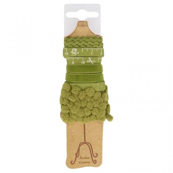 """Bänder Paket Schneiderpuppe """"grün"""""""
