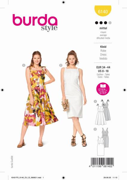 Kleid - 6140 A und B