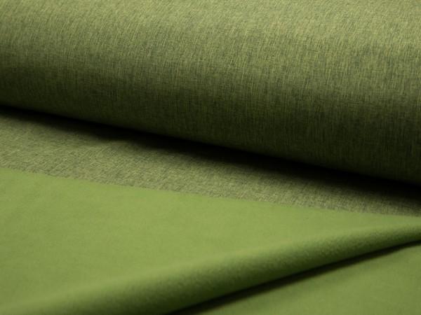 "Softshell ""Meliert"" grün"