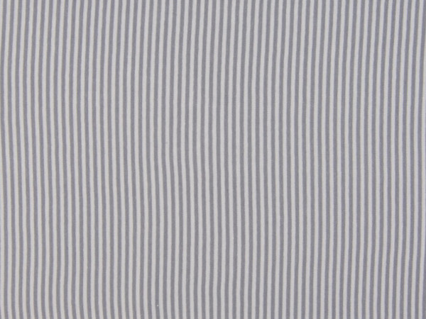 "Bündchen glatt ""Streifen"" grau"