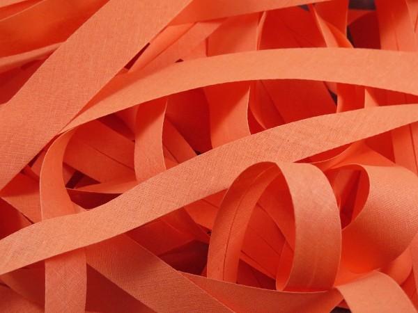 """Baumwoll-Schrägband 20mm """"apricot"""""""