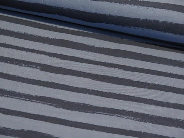 """Sommersweat """"Stripes"""" jeans/blau"""