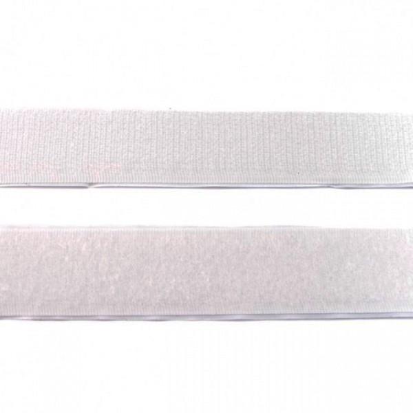 """Klettband zum kleben Hakenband 20mm """"weiss"""""""