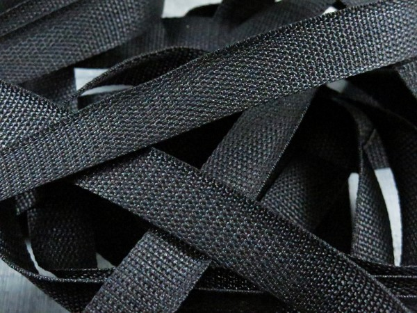 """Gurtband 25mm """"schwarz"""""""