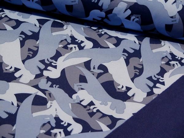 "Softshell ""Dinos"" blau"