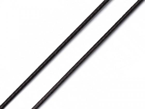 """Rundgummi 2.2mm """"schwarz"""""""