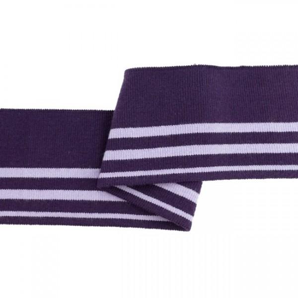 """Cuff Stripes """"lila/flieder"""
