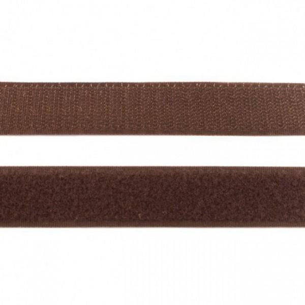 """Klettband 25mm """"braun"""""""