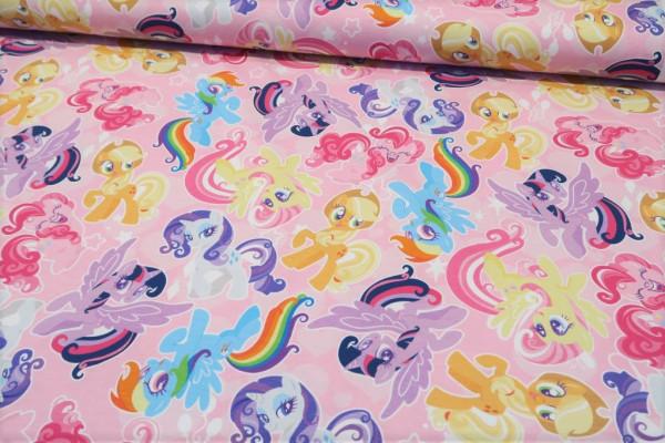 """Baumwolljersey """"My little Pony"""""""