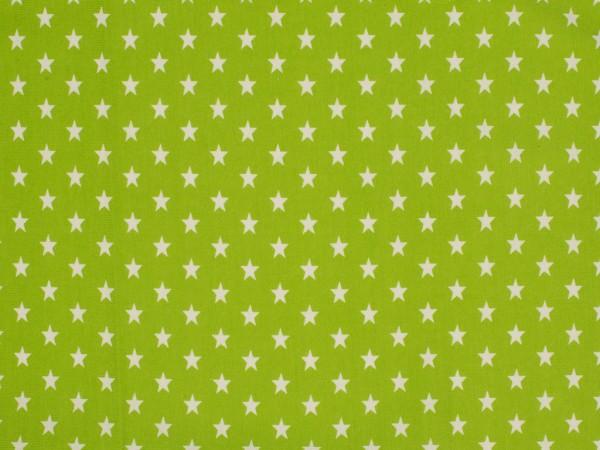 "Baumwolljersey ""Sterne"" grün"