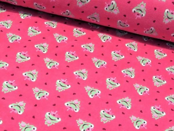 """Nicky Velour """"Frösche"""" pink"""