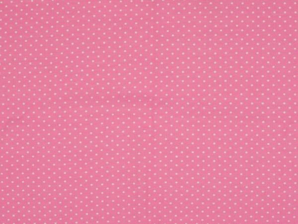 "Baumwolljersey ""Dots"" rosa"