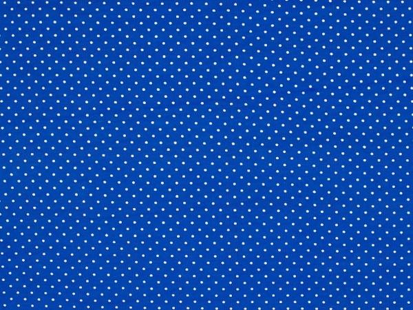 "Baumwolljersey ""Dots"" royalblau"