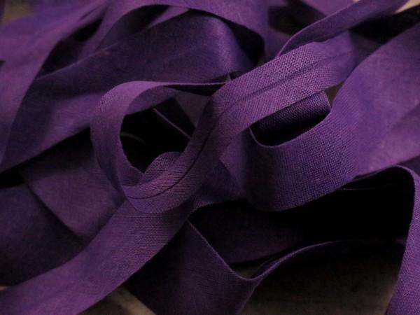 """Baumwoll-Schrägband 12mm """"violett"""""""