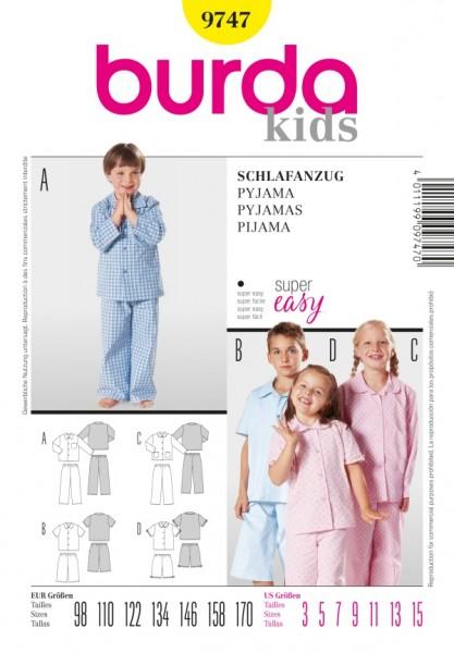Schlafanzug - Pyjama - 9747