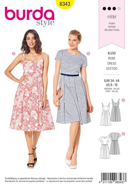 Kleid - 6643 A und B