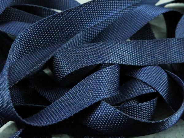 """Gurtband 25mm """"dunkelblau"""""""