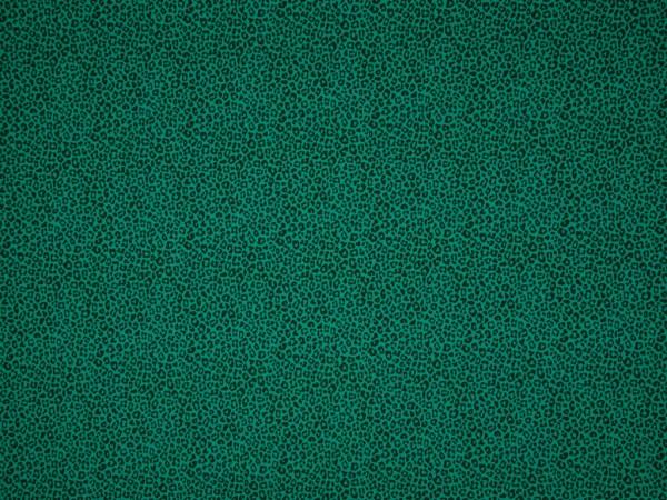 "Baumwolljersey ""Leo Print"" emerald"