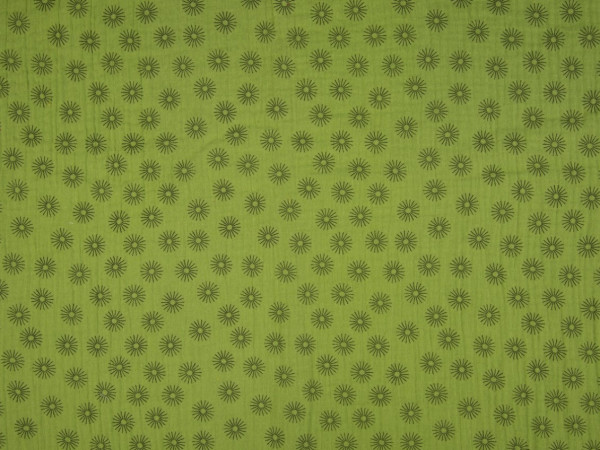 "Musselin ""Sunny"" grün"