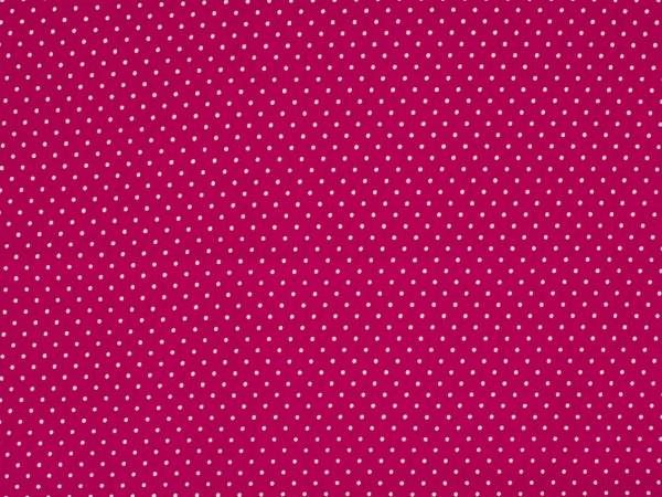 """Baumwolljersey """"Dots"""" pink"""