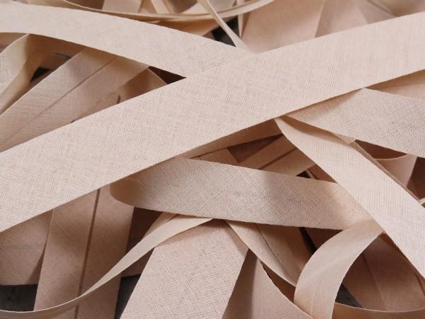 """Baumwoll-Schrägband 30mm """"beige"""""""