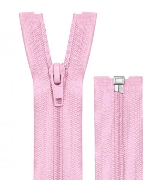 Reissverschluss teilbar - Spirale - rosa