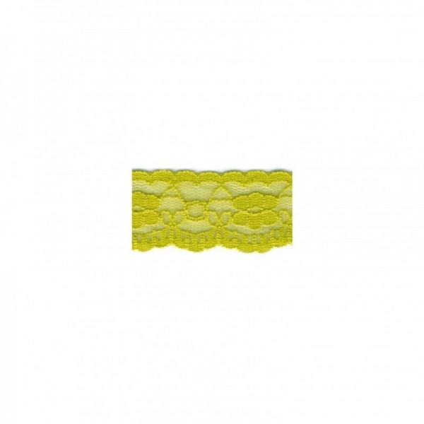 """Nylonspitze Flower 25mm """"lime"""""""