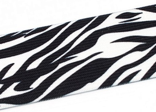 "40mm Gummi ""Zebra"""