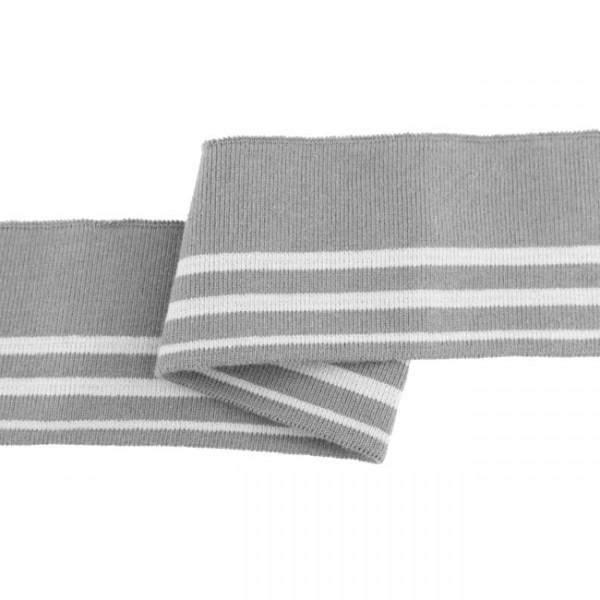 """Cuff Stripes """"grau/hellgrau"""""""