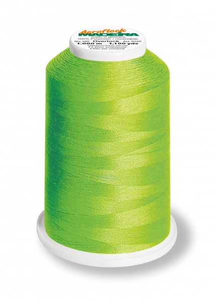 Bauschgarn - Madeira Aeroflock - hellgrün