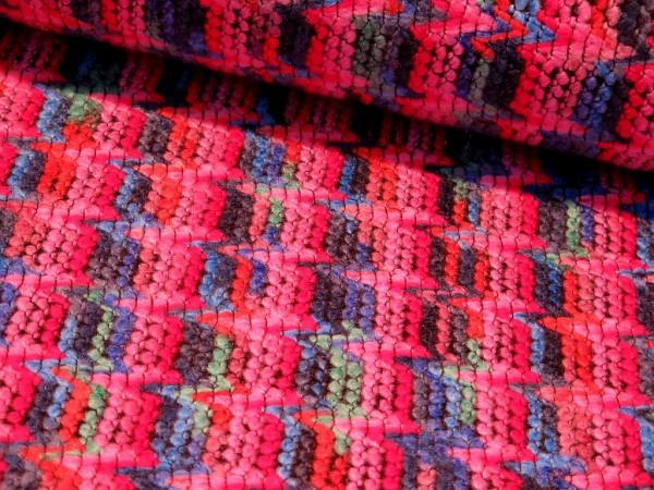 """Multicolour """"ZickZack"""" pink/blau"""