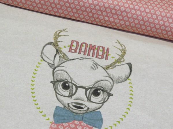 """Baumwolljersey Panel """"Bambi"""""""